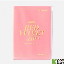 Red Velvet - ZIPPER NOTE
