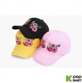 [ D ] Decal flower ballcap