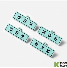 SHINee - PVC NAME TAG