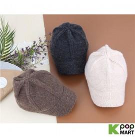 [ D ] Pretzel knit cap