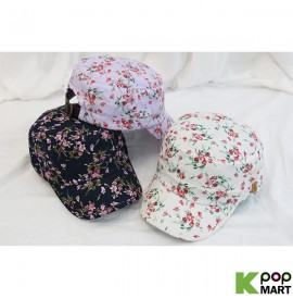 [ D ] Flower pattern cap