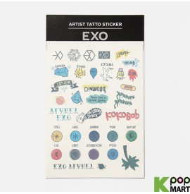 EXO - ARTIST TATTOO STICKER