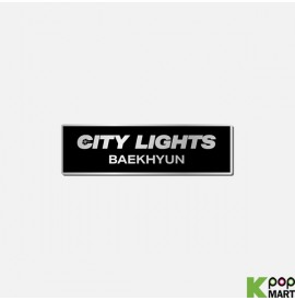 BAEKHYUN - [City Lights] BADGE