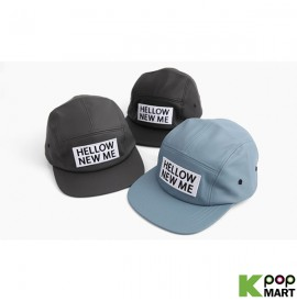 [ D ] Leather hellow snapback