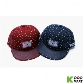 [ D ] Eight flower snapback