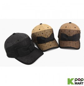 [ D ] Dot ribbon ballcap