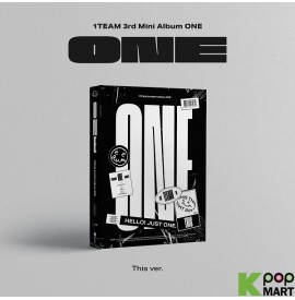 1team Mini Album Vol. 3 - ONE