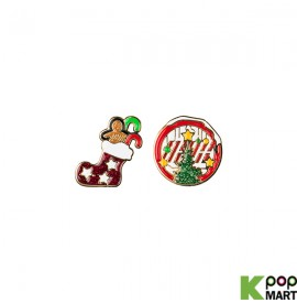 iKON - CHRISTMAS BADGE SET