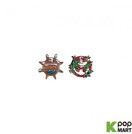 AKMU - CHRISTMAS BADGE SET