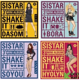 Sistar Mini Album Vol. 3 -...
