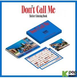 SHINee - Sticker Coloring Book