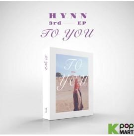 HYNN 3rd EP - To You