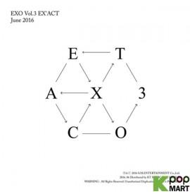 EXO Vol. 3 - EX'ACT (Korean...