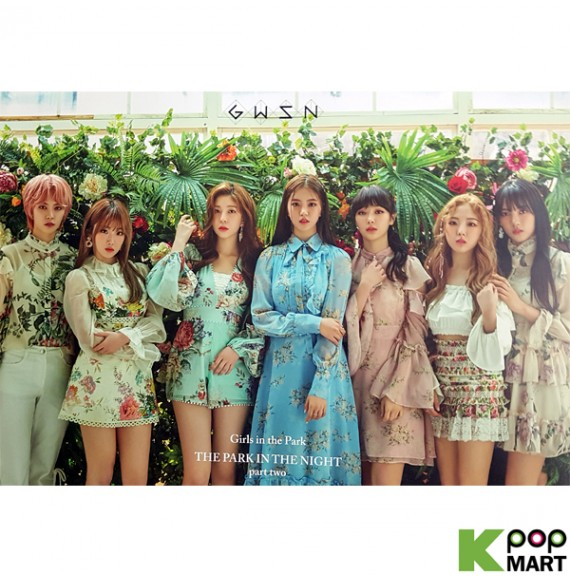 Poster Gwsn Mini Album Vol 2 The Park In The Night Part Two Green T6 The group consists of members who are from south korea, japan. poster gwsn mini album vol 2 the