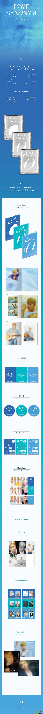 Wonho Mini Album Vol. 1 - LOVE SYNONYM 1. Right for me (Random)